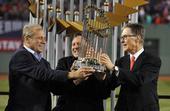 图文:MLB总决赛红袜队夺冠 颁奖很欢乐