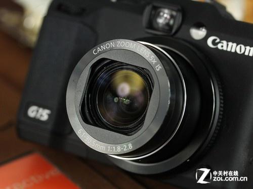 佳能 G15黑色 镜头图