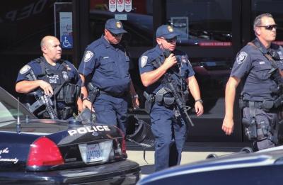 美国洛杉矶警察局_洛杉矶机场枪击案嫌犯或因被辞退报复社会(图)-搜狐新闻