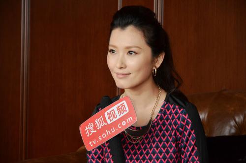 11月3日下午,徐洁儿携电影《光的棍》接受搜狐娱乐专访(点击进入组图)