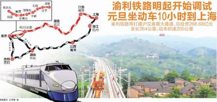 沪汉蓉铁路渝利段_成渝高铁2015年开通 从永川到主城只要15分钟(组图)-搜狐滚动