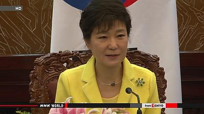 韩国总统朴槿惠资料图