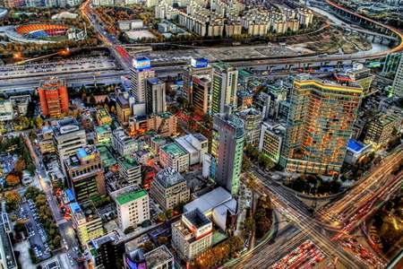 首尔自由购物休息4日游