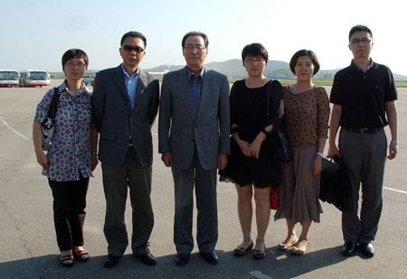 资料图:中国政府朝鲜半岛事务特别代表武大伟8月访问朝鲜.