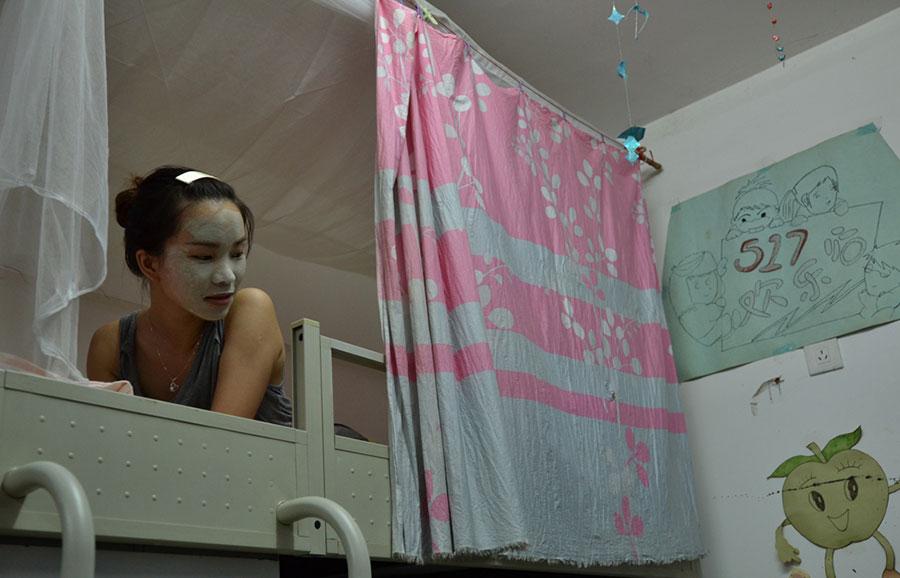 广西大学动漫生活女生宿舍拍摄系列摄影作品获歌曲女生节奏女生图片