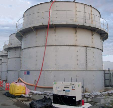 日本福岛第一事故核电站(图片来源:俄罗斯之声网站)
