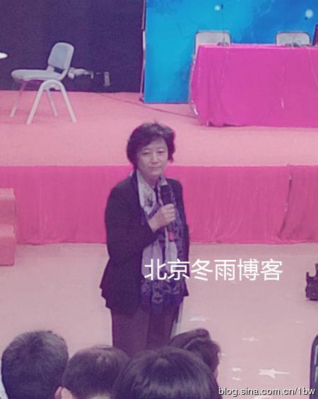 杜宪正在演讲