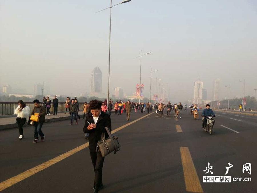 山西省委附近爆炸初步判斷為人為制造 迎澤大街交通秩序恢復