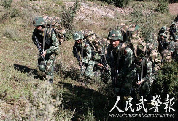 吴英杰 武警部队为西藏稳定立下汗马功劳 2图片