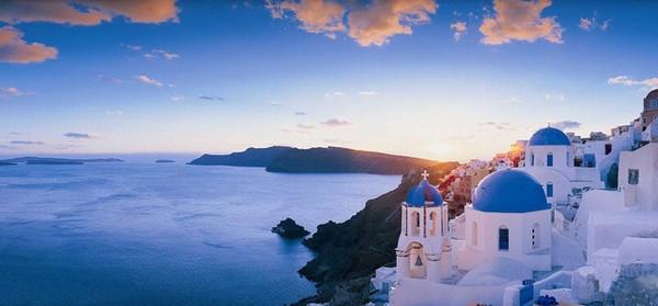 浪漫希腊之所有的蓝色都在这儿