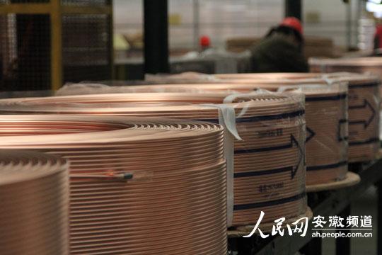 luanlunhenhengan_铜陵园区:完善了产业链 做足了铜文章(组图)