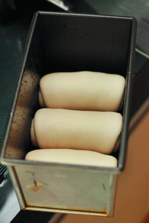 牛奶红豆小吐司