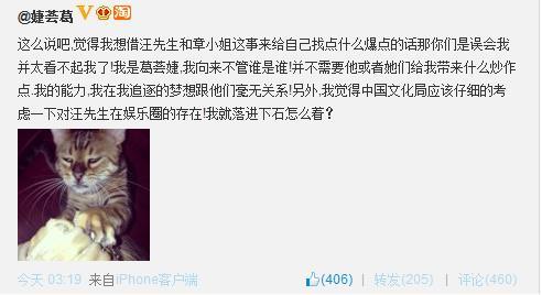 汪峰前妻对峰子恋添加:我就落井下石(图)-搜狐蚂蚁宣战图表情包图片
