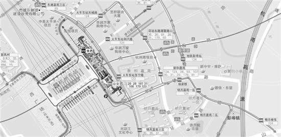 新增公共设施 杭州东站西广场春节前启用(图)