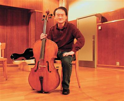 大提琴家王健