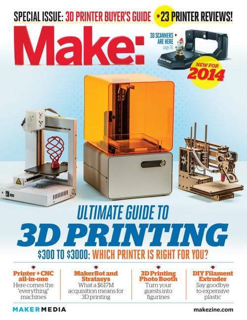 太尔时代UP Plus 2 3D打印机获美国MAKE杂志评测大奖
