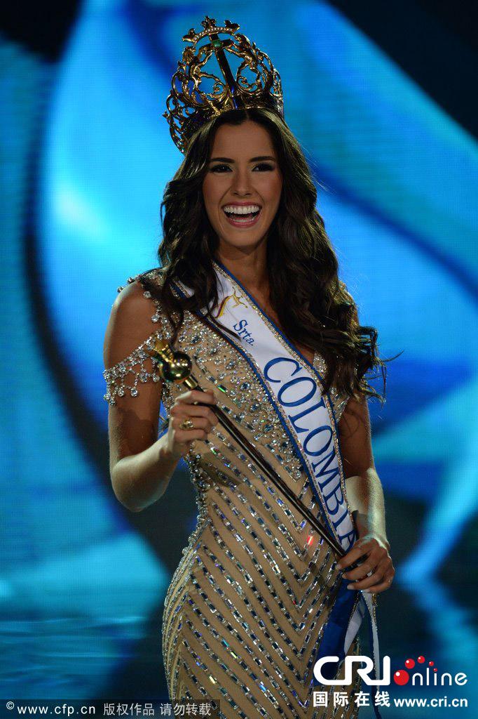 11月11日,在哥伦比亚卡塔赫纳,哥伦比亚小姐选美大赛于当日落幕,拥有