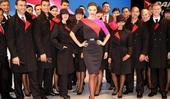 澳航空姐怨新制服太紧身 称不是超模可儿