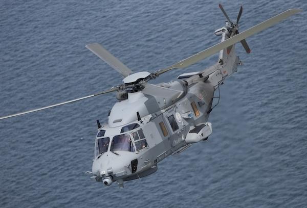 资料图 意大利NH90 Step B海军直升机