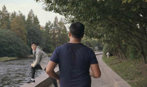 劉翔露面,領銜拍攝新廣告