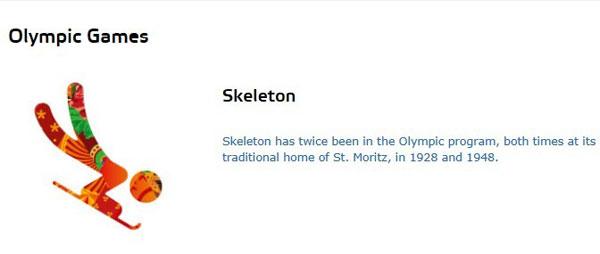 钢架雪车(Skeleton)