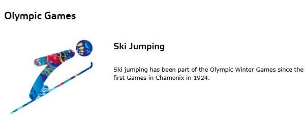 跳台滑雪(Ski Jumping)