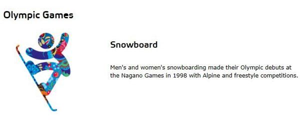 单板滑雪(Snowboarding)