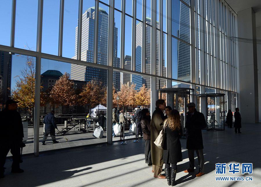 世贸大楼问鼎美国最高建筑物被誉为复活标志