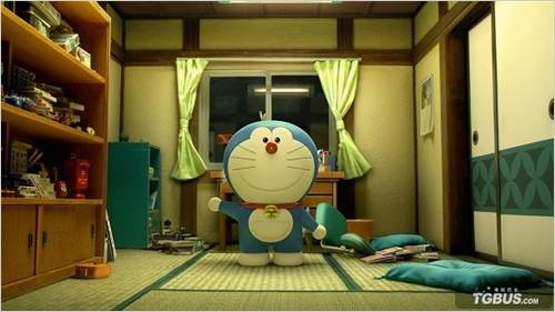 《哆啦A梦》首次实现3DCG电影化