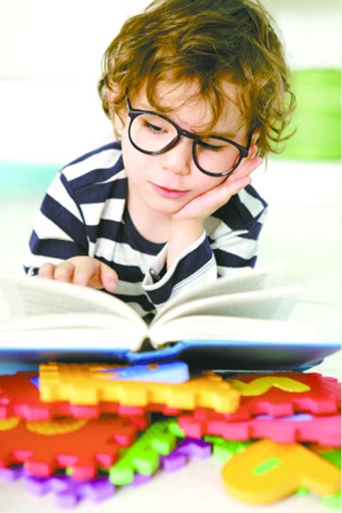 九成学龄前儿童是远视(图)