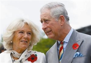 查尔斯王子与王妃卡米拉 资料图片