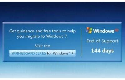 微软发布 Windows XP 死亡倒计时工具