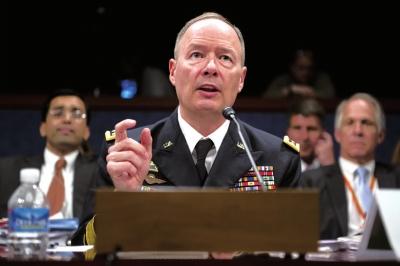 美国国家安全局局长基思・亚历山大资料图片。图/东方IC