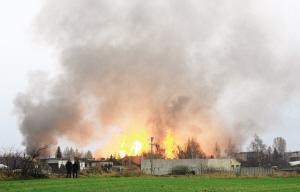 波兰天然气管道爆炸死伤13人(图)