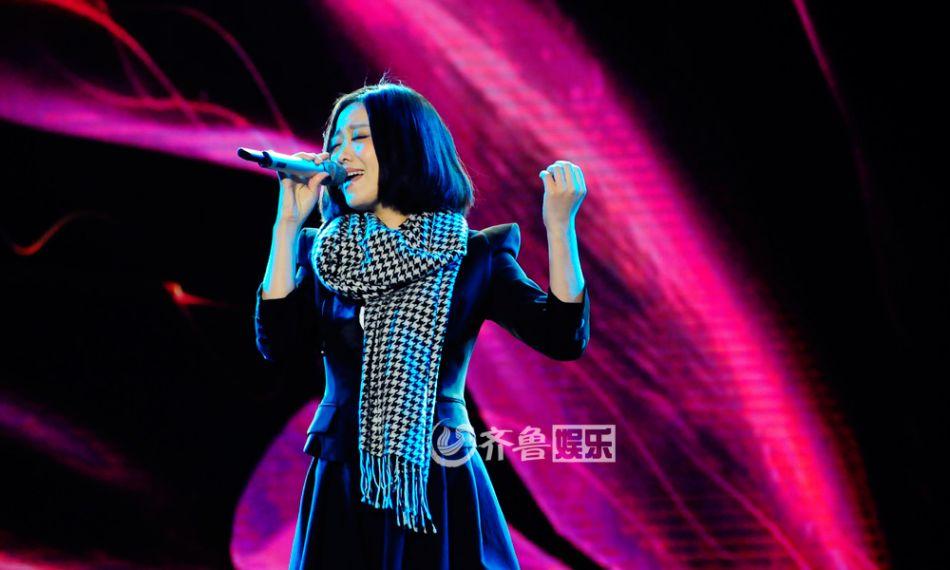 姚贝娜 侯磊/中国好声音学员唱响泉城