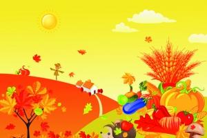 我爱秋天(图)图片