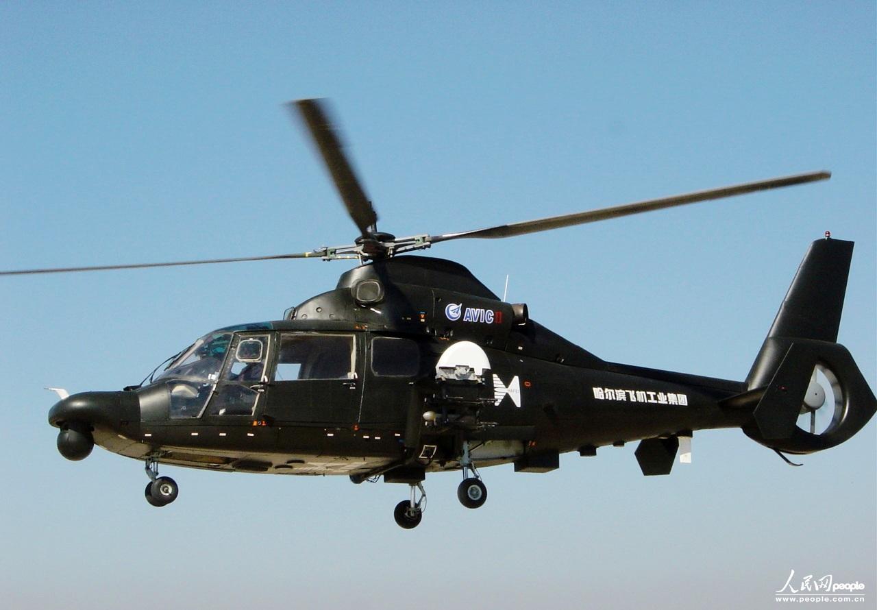 中国Z9WE出口型武装直升机