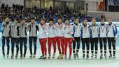 图文:短道世界杯俄罗斯站 颁奖仪式