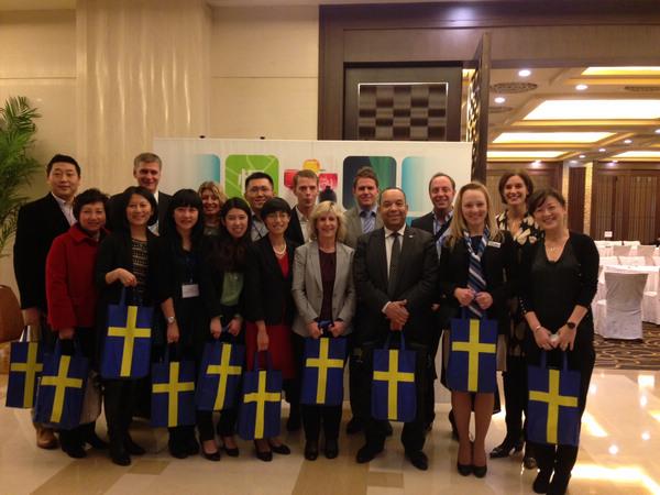"""慢游瑞典""""2013-2014年度旅游推介会举办"""