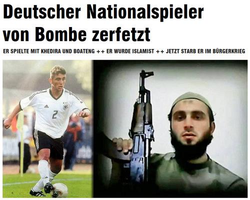 德国《图片报》截图