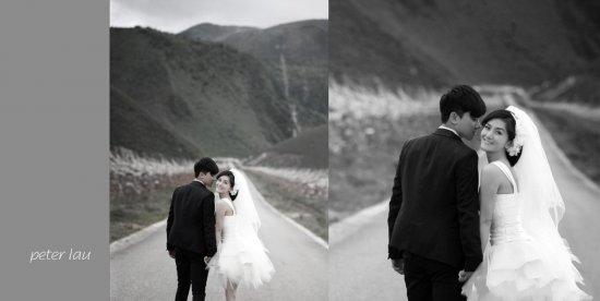 谢娜张杰杨幂刘恺威 明星情侣写真和婚纱超有