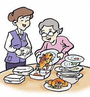 还有一些家长为了孩子任意点菜,殊不知这些都造成了粮食的浪费.图片