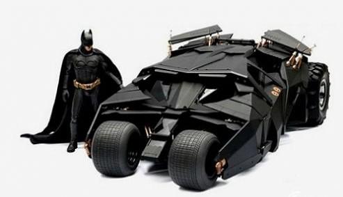 蝙蝠战车 来自《蝙蝠侠:黑暗骑士崛起》