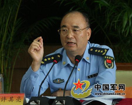 资料图:中央军委成立巡视组加强监督许其亮带头。
