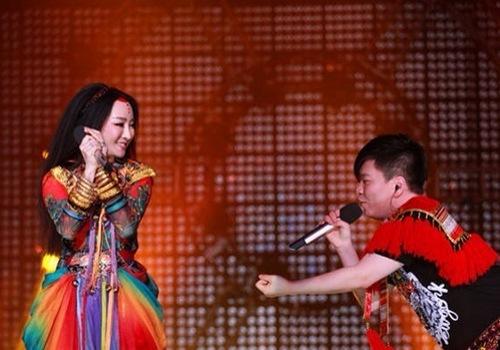 萨顶顶常石磊唱的歌_萨顶顶常石磊《星搭档》 劲歌热舞演绎完美和声-搜狐音乐