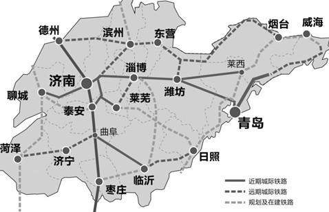 淄博到北京地图