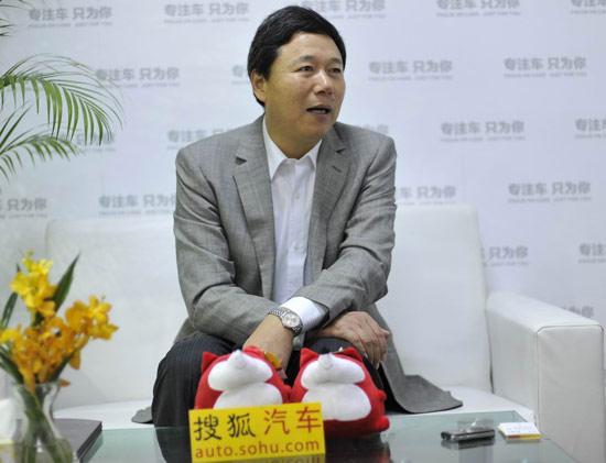 东风乘用车公司副总经理 柳玉春