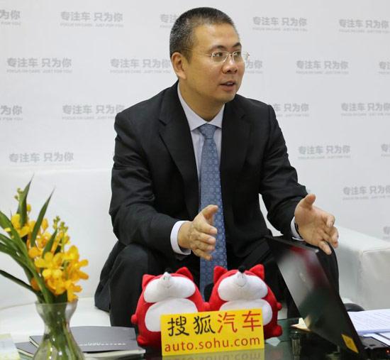 北京汽车销售有限公司总经理 刘宇