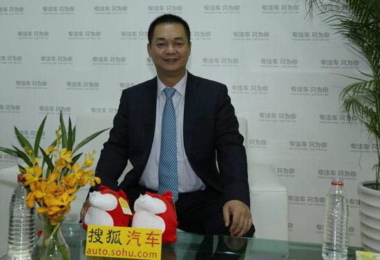 广汽三菱有限公司副总经理 杜志坚