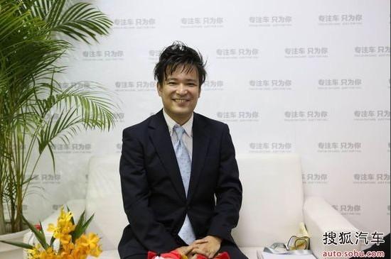 广汽丰田汽车有限公司销售本部规划营销部首席高级经理 山崎龙也
